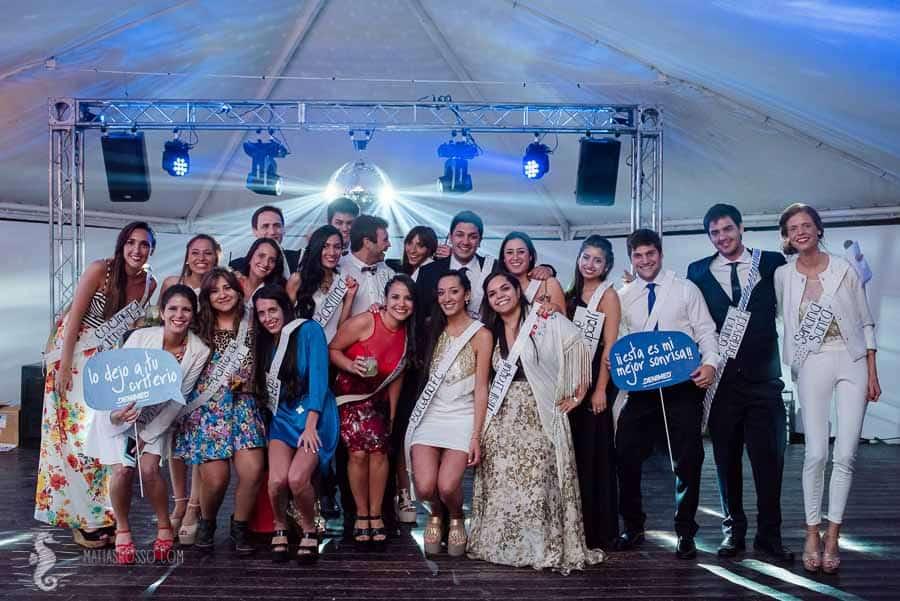 Cena Egresados Odontología Universidad de Mendoza en Lola Mora espacio para eventos